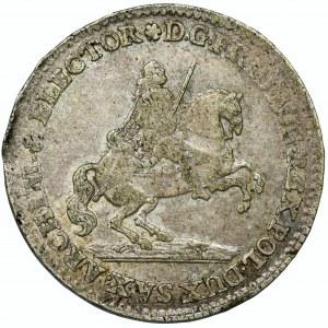 August III Sas, Dwugrosz wikariacki 1741