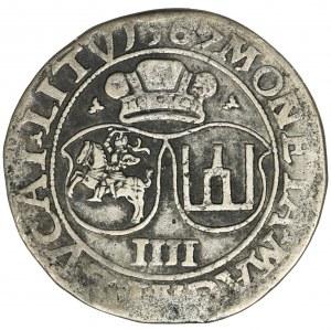 Sigismund II August, 4 Groschen Villnius 1567