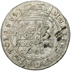 Jan II Kazimierz, Tymf Bydgoszcz 1664 AT - SALVS
