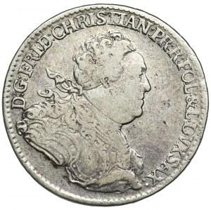 Friedrich Christian, 2/3 Thaler (gulden) Dresden 1763 FWôF