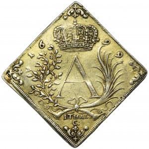 August II Mocny, Klipa talara strzeleckiego Drezno 1699