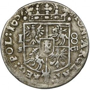 John II Casimir, 1/4 Thaler Krakau 1657 IT SCH