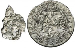John II Casimir, 6 Groschen Bromberg 1667 TLB