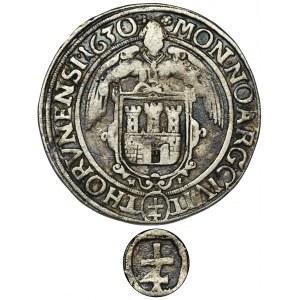 Sigismund III Vasa, 1/4 Thaler Thorn 1630 HL - EXTREMELY RARE