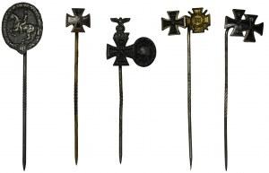 Niemcy, III Rzesza, Zestaw miniaturek (5szt.)
