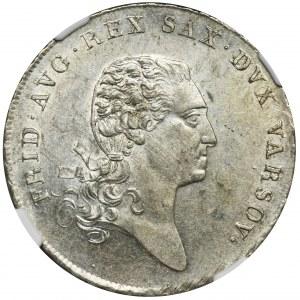 Duchy of Warsaw, Thaler Warsaw 1811 IB - NGC MS61