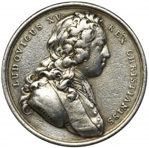 Ludovicus XV, Wedding medal Marie Leszczynska 1725