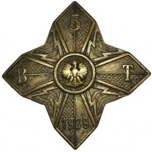 II RP, Odznaka 5 Batalionu Telegraficznego z Krakowa