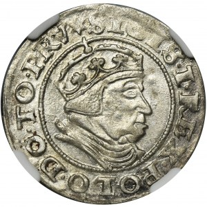 Sigismund I the Old, Groschen Danzig 1540 - NGC MS62