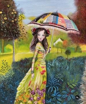 Magdalena Zalewska, Kobieta z parasolką