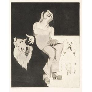 Przybylski Janusz (1937-1998), Dziewczyna i psy