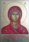 Zofia Dobrzańska, Ikona Matki Bożej