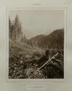 Stanisław BIZAŃSKI (1846-1890), Widoki Tatrzańskie - zestaw 7 fotogramów