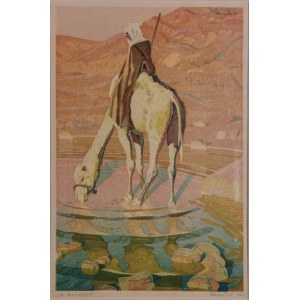 Aleksander LASZENKO (1883-1944), Beduin, 1935