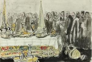 Antoni UNIECHOWSKI (1903-1976), Przy stole