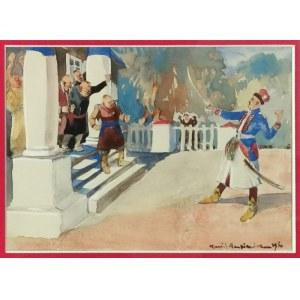 Kamil MACKIEWICZ (1887-1931), Szlacheckie swary (satyra na polską szlachtę), 1930