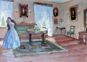 Bronisława RYCHTER-JANOWSKA (1868-1953), Scena intymna