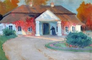 Bronisława RYCHTER-JANOWSKA (1868-1953), Dworek, 1921