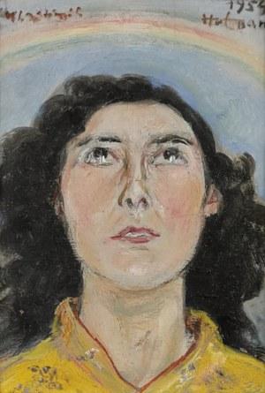 Wlastimil HOFMAN (1881-1970), Portret, 1954
