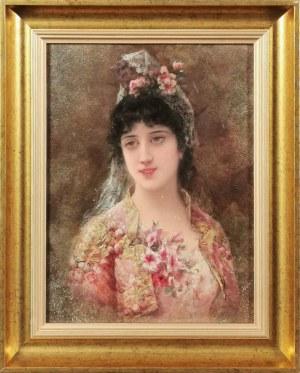 Émile EISMAN-SEMENOWSKY (1859-1911), Piękna Włoszka