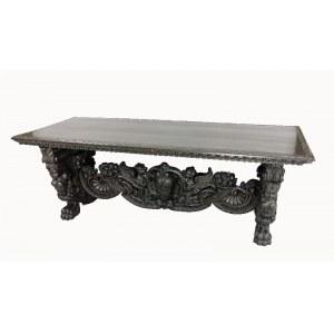 Stół policzkowy w stylu neorenesansowym