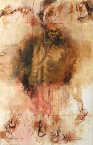 Adam NOWACKI, The Scarecrow No. 90 (inspired by Franz Xaver Messerschmidt), 2019 r.