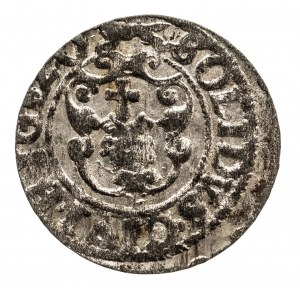Polska, Zygmunt III Waza 1587-1632, szeląg ryski 1620, Ryga.