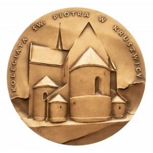 Polska, PRL 1944-1989, medal z serii królewskiej Oddziału Koszalińskiego PTN - Mieszko III Stary.