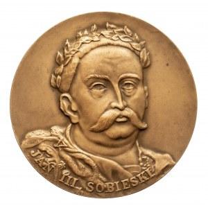Polska, PRL 1944-1989, medal Jan III Sobieski. Odsiecz Wiedeńska, 1983.