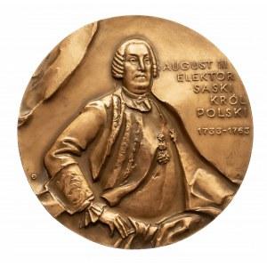 Polska, PRL 1944-1989, medal August III, Kutno, 1986.