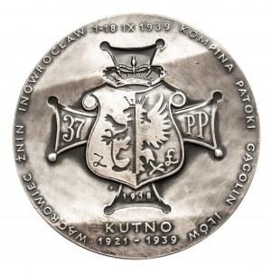 Polska, PRL 1944-1989, medal Książę Józef Poniatowski, 37 Łęczycki Pułk Piechoty, 1986.