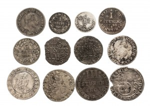 Niemcy, zestaw 12 monet.