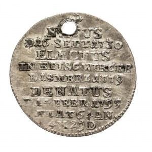 Niemcy, Biskupstwo Würzburg, Groschen 1795, Franz Ludwig von Erthal 1779-1795.