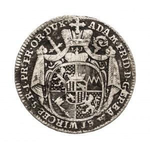 Niemcy, Biskupstwo Würzburg, Groschen 1779, Adam Friedrich von Seinsheim, 1757-1779