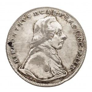 Austria, Biskupstwo Salzburg, 20 kreuzer 1802 M, Hieronymus Graf Colloredo 1772-1803.