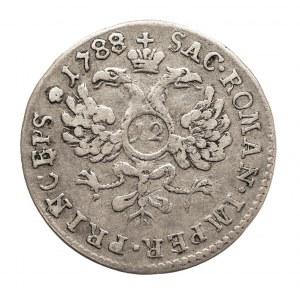 Szwajcaria, Biskupstwo Basel, 12 Kreuzer 1788, Joseph Sigismund von Roggenbach 1782-1793.