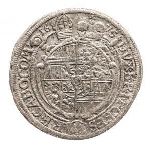 Czechy, Biskupstwo Ołomuniec, 6 krajcarów 1675, Karl II. von Lichtenstein, 1664-1695.