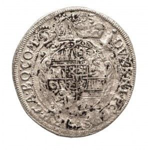 Czechy, Biskupstwo Ołomuniec, 3 krajcary 1695, Karl II. von Lichtenstein, 1664-1695.