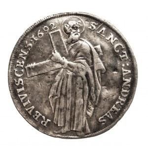 Niemcy, Biskupstwo Osnabruck, 1/3 talara 1692, Ernst August I 1662-1698.