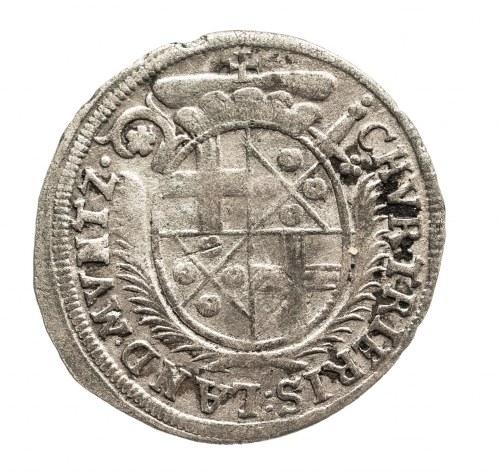 Niemcy, Biskupstwo Trewir, 3 petermentger 1693 FS Johann Hugo von Orsbeck 1676-1711
