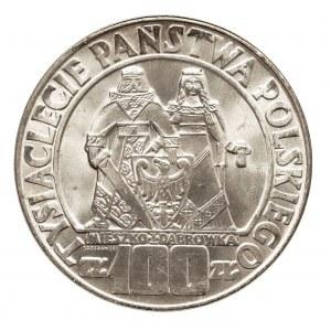 Polska, PRL 1944-1989, 100 złotych 1966 Dąbrówka