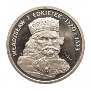 Polska, PRL 1944-1989, 200 złotych 1986 Władysław Łokietek, próba, miedzionikiel