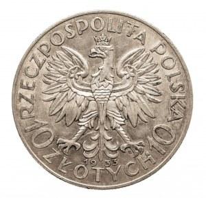 Polska, II Rzeczpospolita 1918-1939, 10 złotych 1933 Kobieta, Warszawa