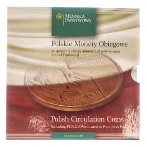 Polska, Rzeczpospolita Polska od 1989, oficjalny zestaw monet obiegowych Mennicy Państwowej