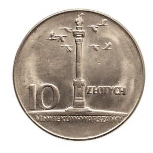 Polska, PRL 1944-1989, 10 złotych 1965 Kolumna Zygmunta (1)