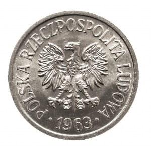 Polska, PRL 1944-1989, 20 groszy 1963