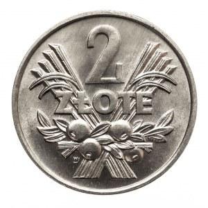 Polska, PRL 1944-1989, 2 złote 1970