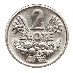 Polska, PRL 1944-1989, 2 złote 1974