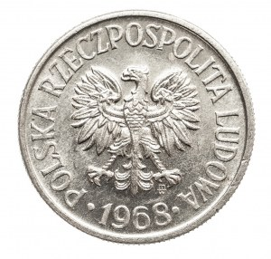 Polska, PRL 1944-1989, 50 groszy 1968