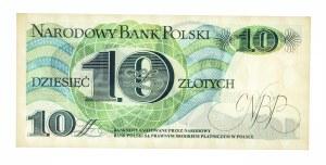 Polska, PRL 1944 - 1989, 10 ZŁOTYCH 1.06.1982, seria N.